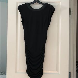 BCBG GENERATION BACKLESS BLACK COCKTAIL DRESS